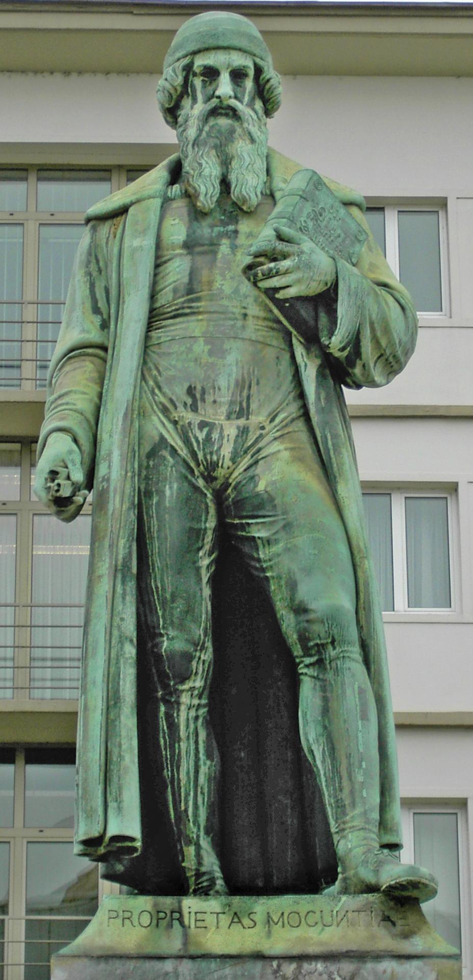 Gutenberg-Denkmal (Mainz) - Wikiwand