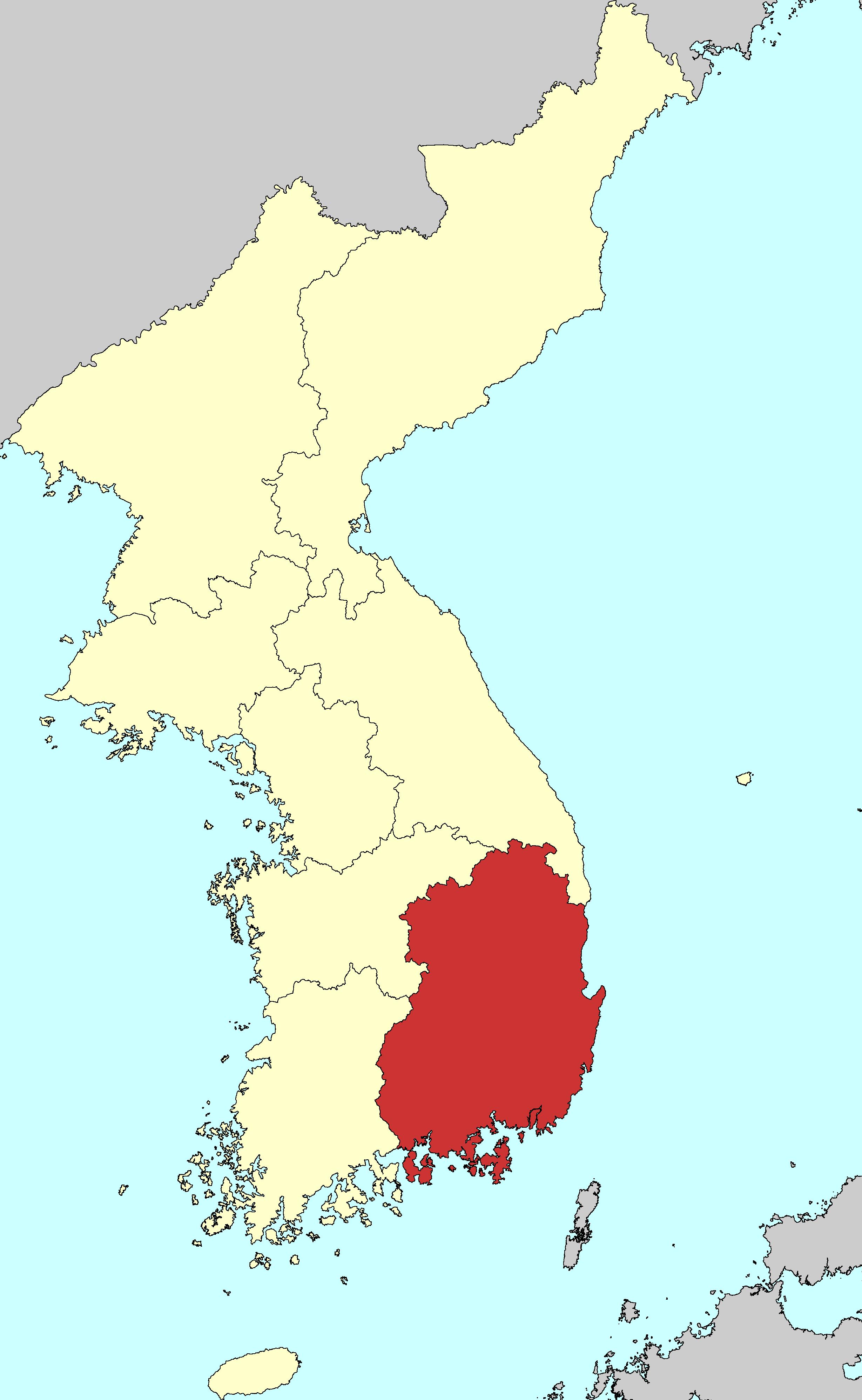 Gyeongsang Province - Wikipedia