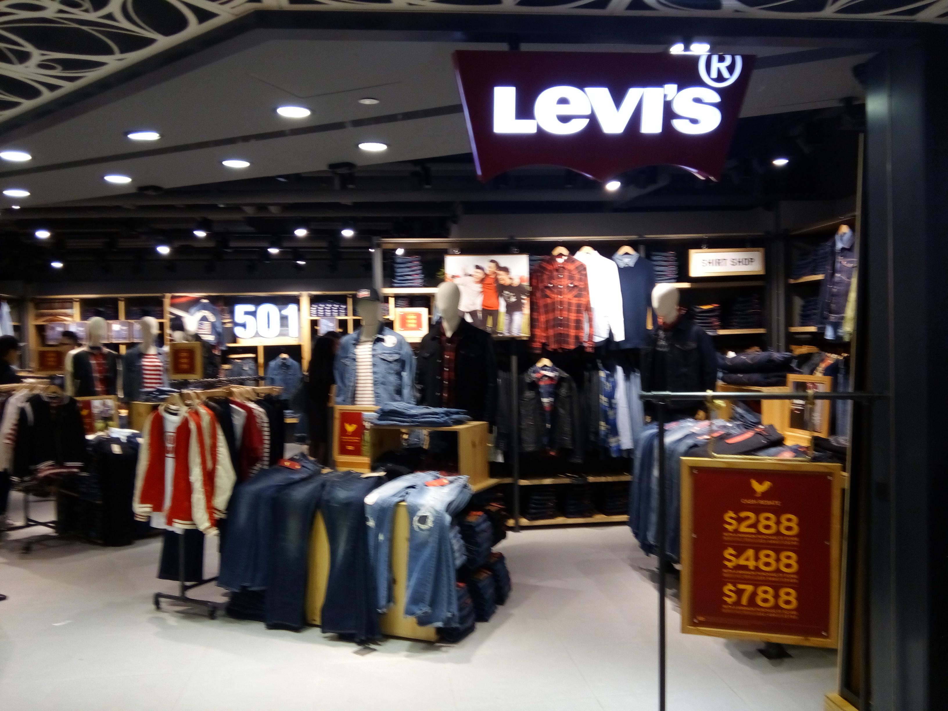 miglior servizio 5f67f 7d63d File:HK Sheung Shui 上水廣場 Landmark North shop Levis jeams ...