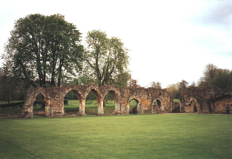 Hailes Abbey, Gloucestershire - geograph.org.uk - 1822902