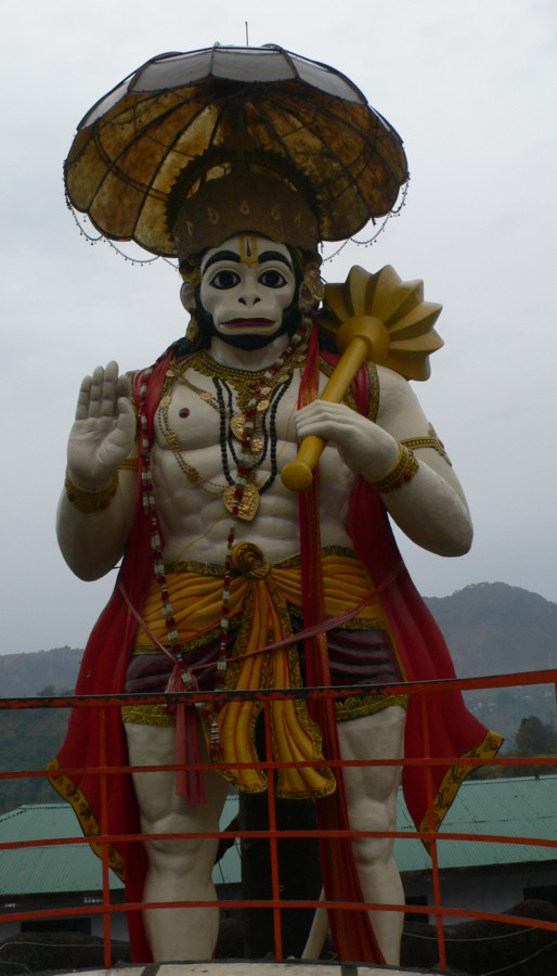 Hanuman statue Sat Tal Uttarakhand.jpg