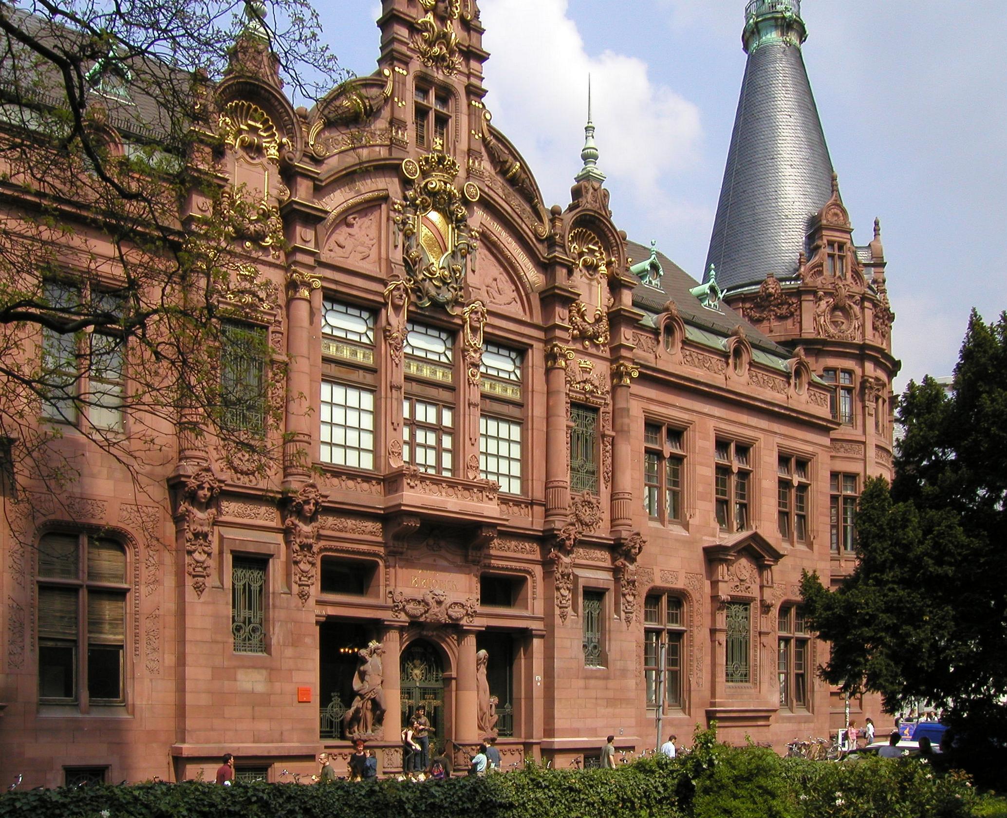 Universität Heidelberg, Deutschlands älteste Universität, gegründet im Jahr 1386.