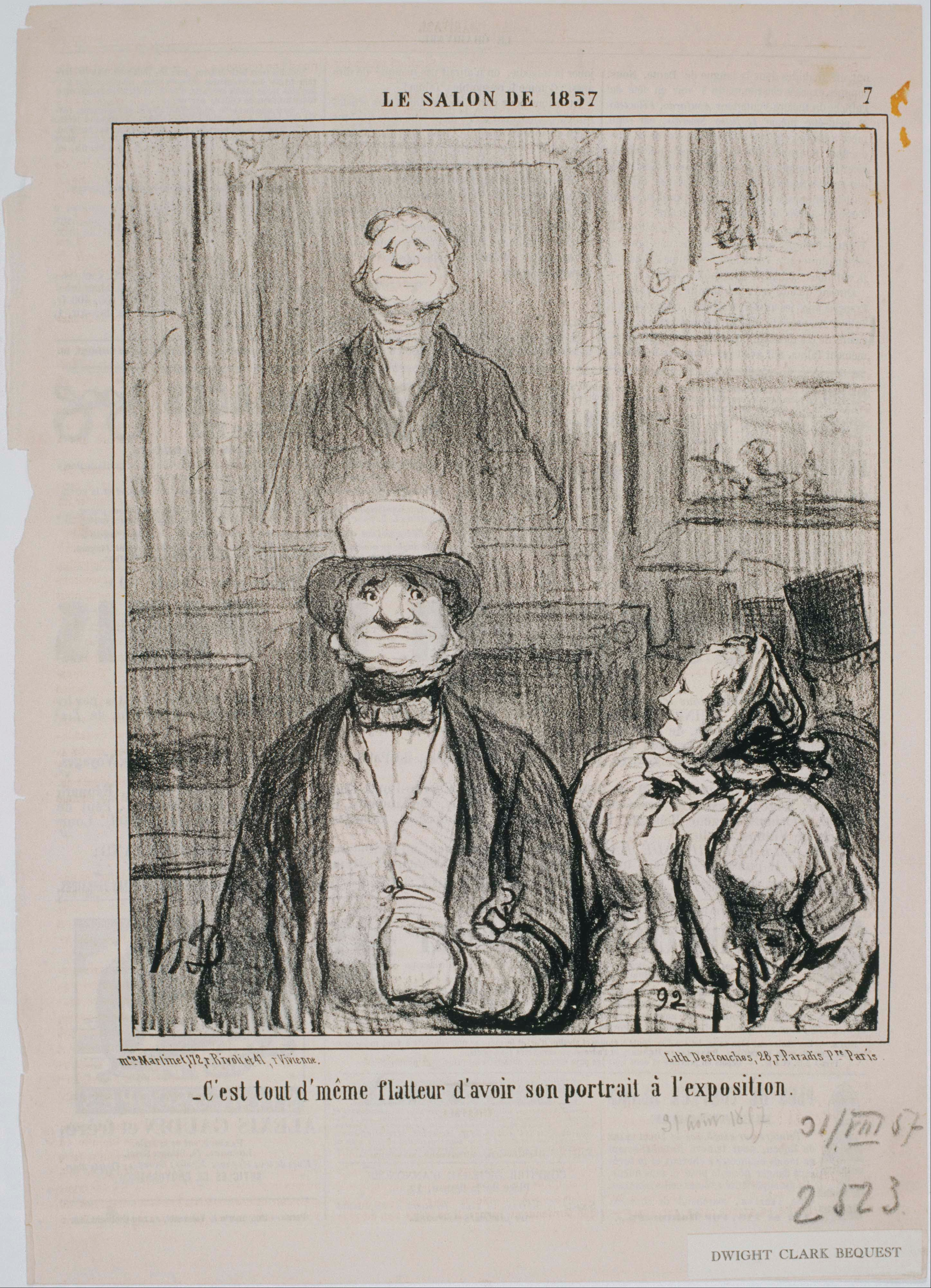 File honor daumier le salon de 1857 comment c 39 est for Devant le miroir manet