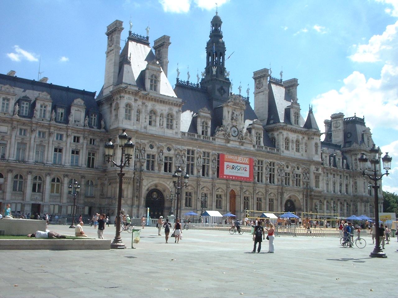 File hotel de ville for Hotel deville paris