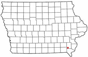 Salem Iowa Map.Salem Iowa Wikipedio