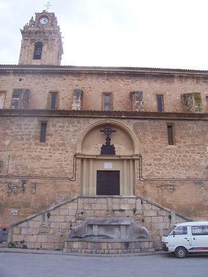 Archivo:Iglesia Arciprestal de San Pedro y San Pablo de Ademuz.JPG