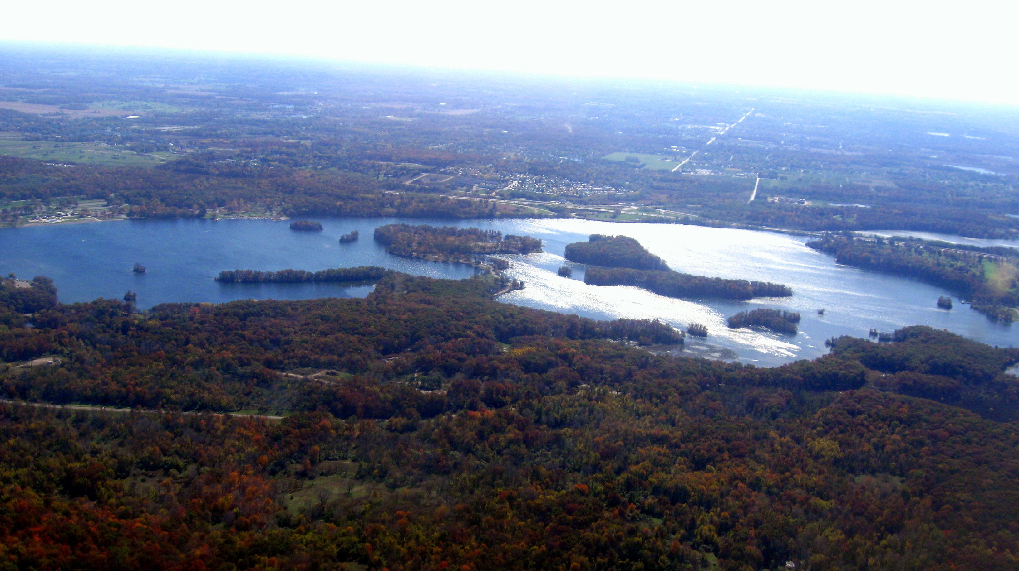 kent lake michigan map Kent Lake Michigan Wikipedia kent lake michigan map