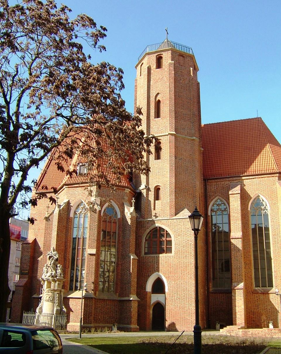 Die gotische St.-Matthias-Kirche