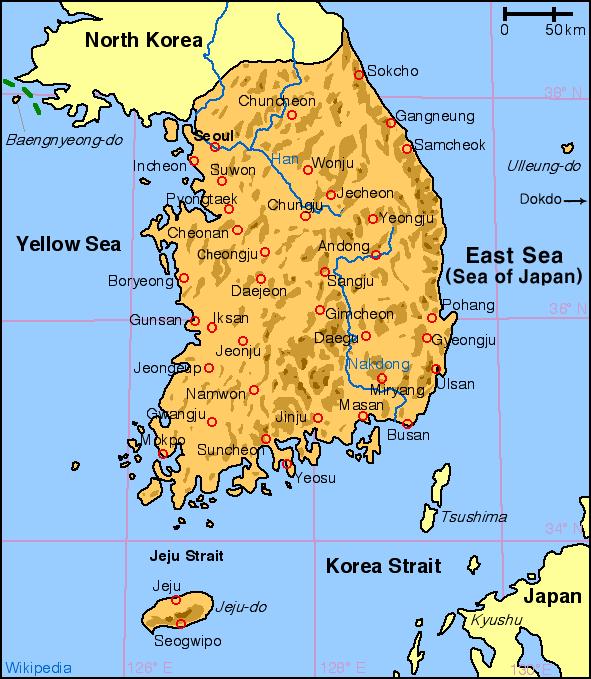 Atlas of South Korea - Wikimedia Commons