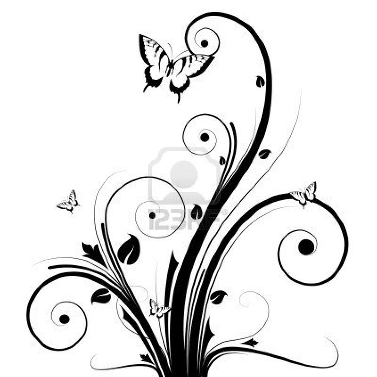 Flores Decorativas Con Basncillos Imagenes