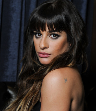 Super Lea Michele Credits Wikipedia Natural Hairstyles Runnerswayorg
