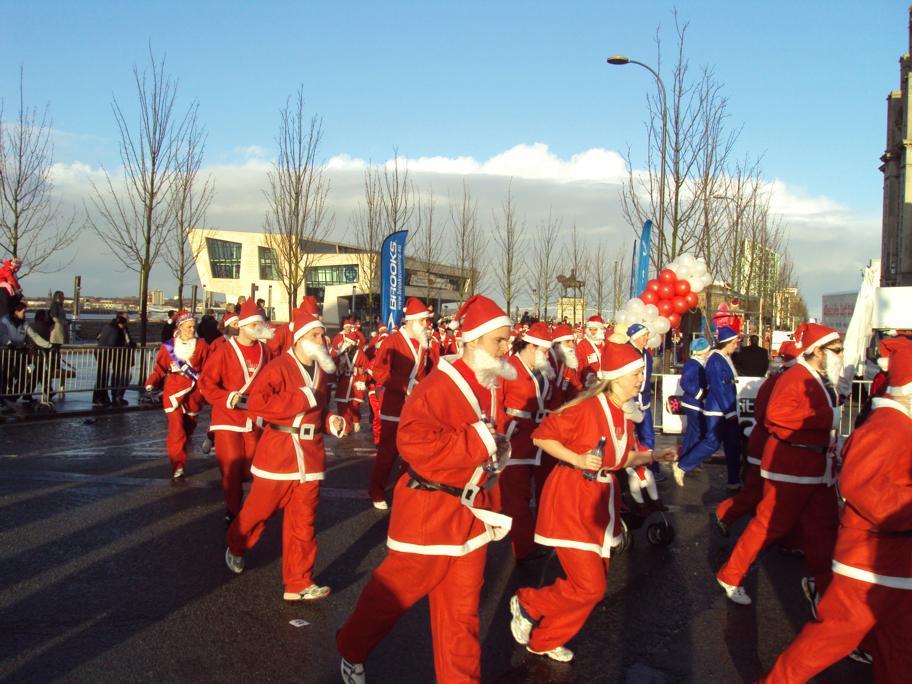 2009 Liverpool Santa Dash