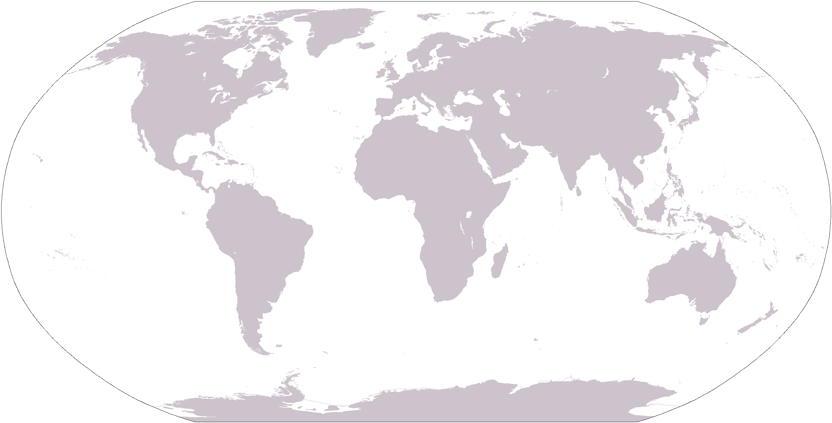World Map Grey