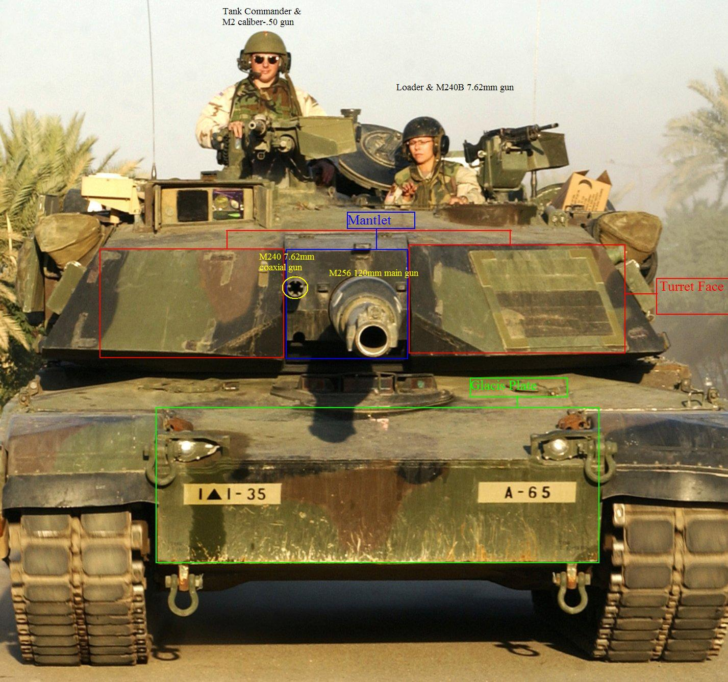 [Image: M1A1_Abrams_with_descriptions.JPG]