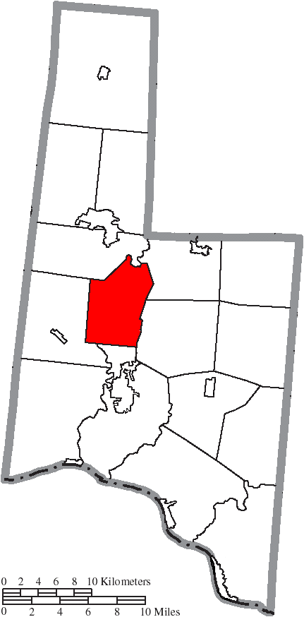 File Map Of Brown County Ohio Highlighting Scott Township Png