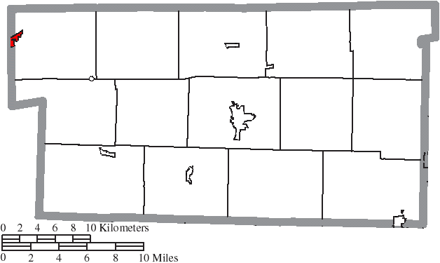 File Map Of Holmes County Ohio Highlighting Loudonville Village Png