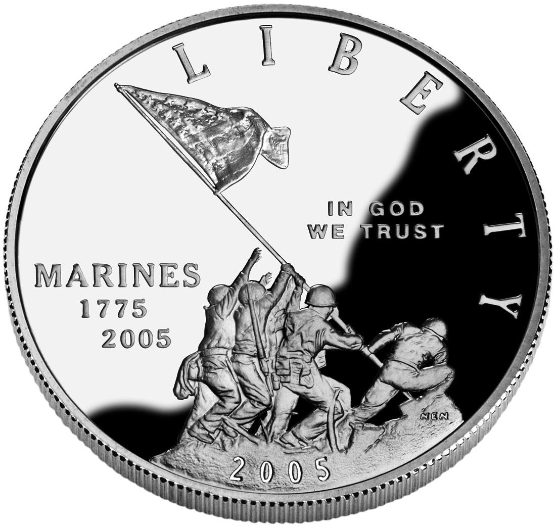 Marine Corps 230th Anniversary Silver Dollar Wikipedia