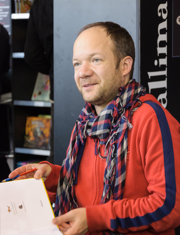 Mathieu Sapin BD Angouleme 2013.jpg