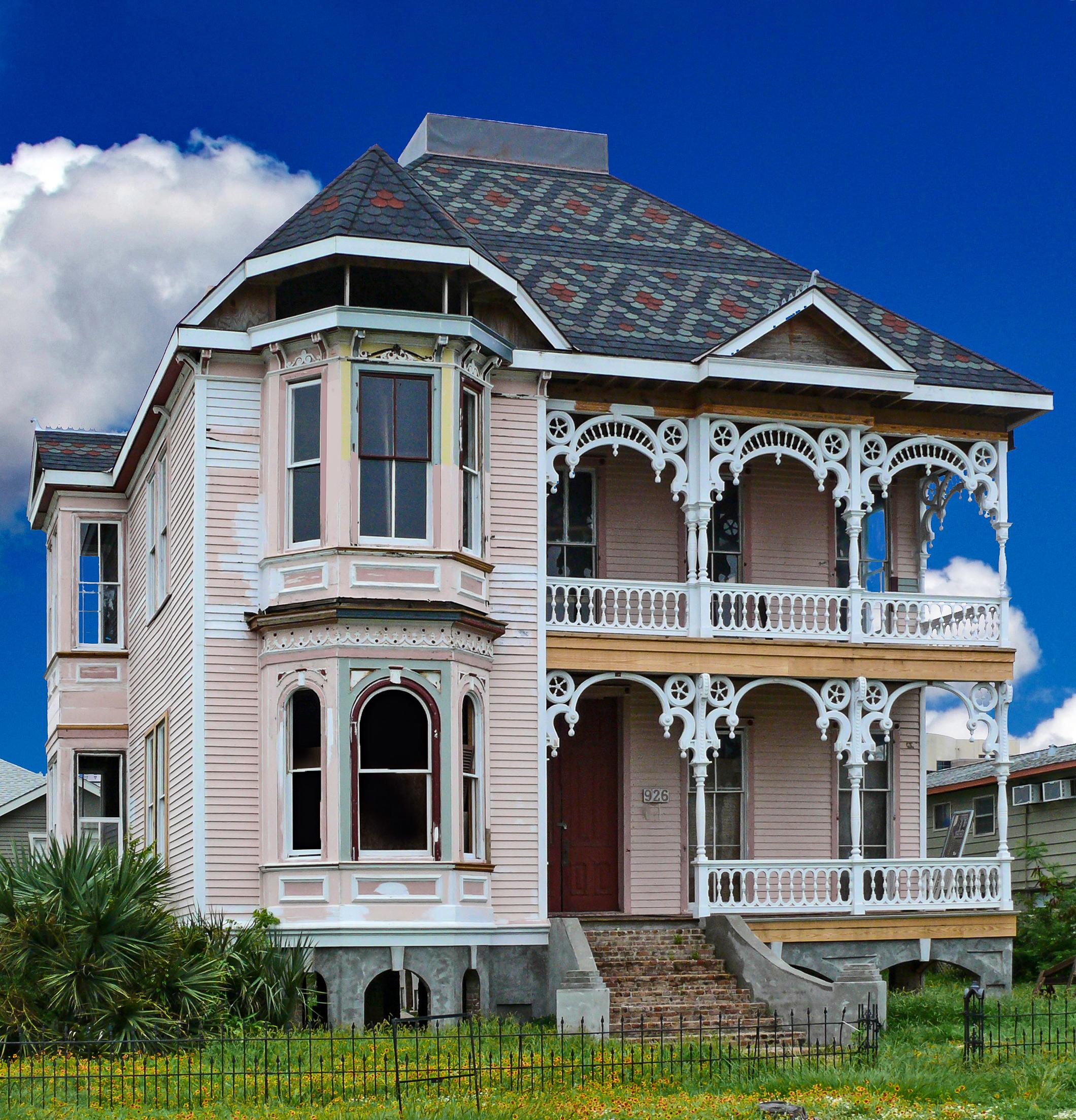 Home Pictures: File:McKinney-McDonald House, Galveston.jpg