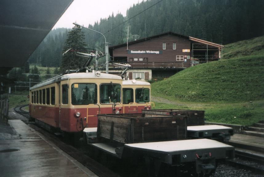 Lauterbrunnen–Mürren Mountain Railway