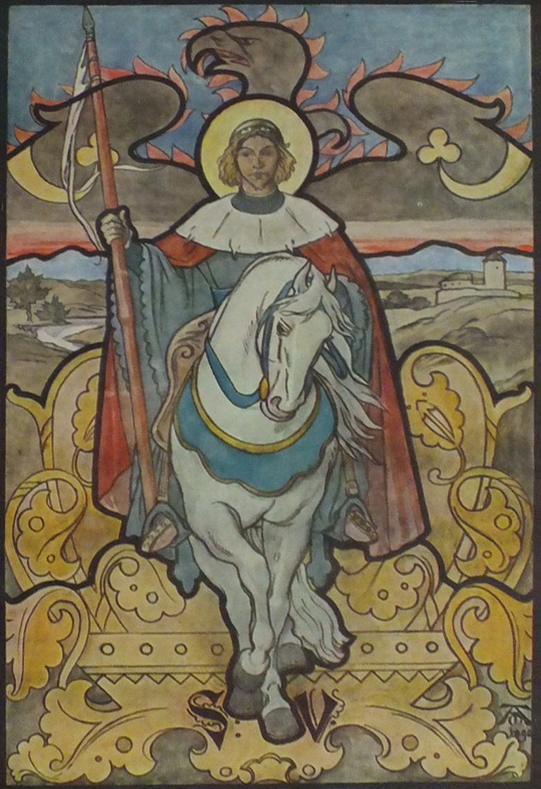 Svatý Václav Petr Parléř