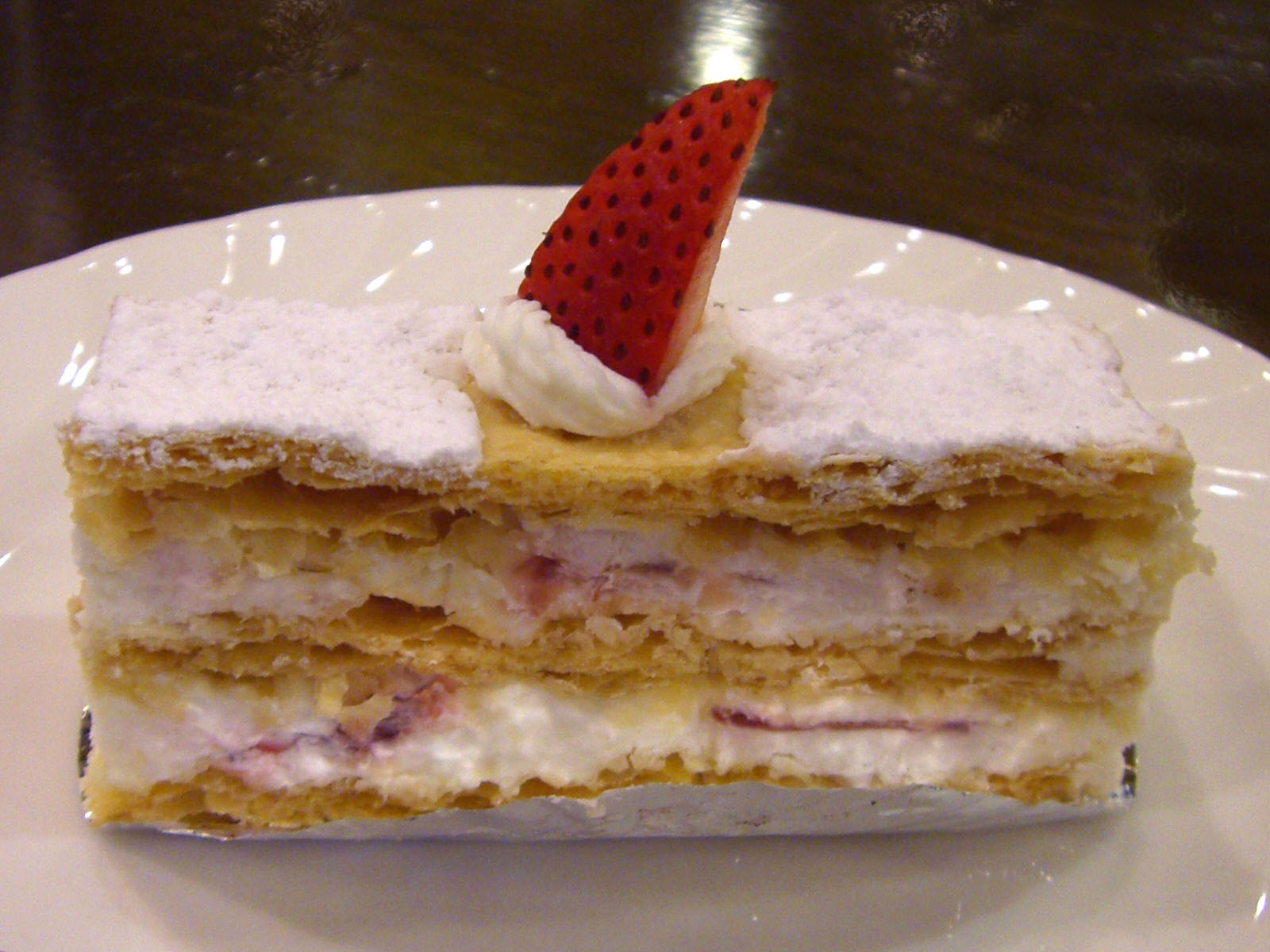 Mille Feuille Cake Recipe
