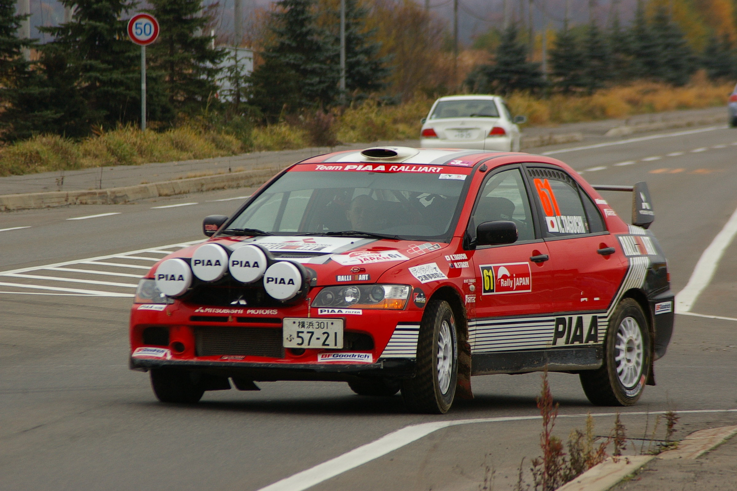 File Mitsubishi Lancer Evolution9 Rally Car Katsuhiko