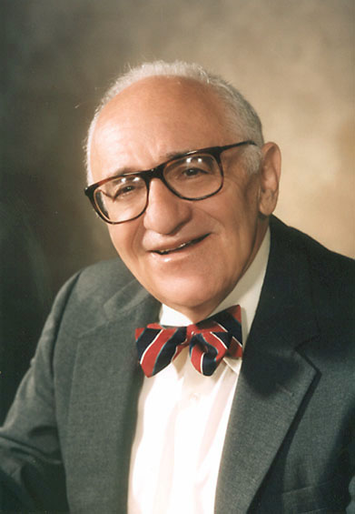Picture of an author: Murray Rothbard