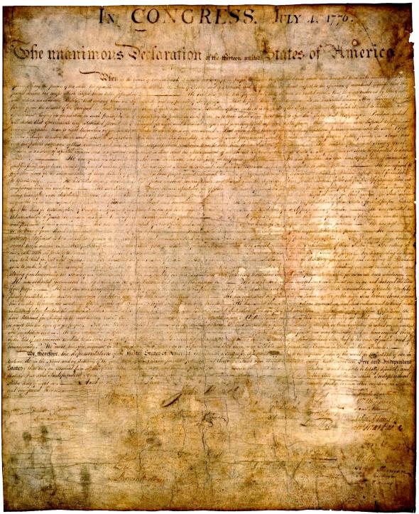 The conduction of the ideals of liberty and rights in the united states