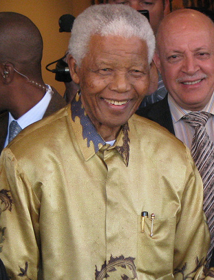 Image: Nelson Mandela (Source: Wikipedia)