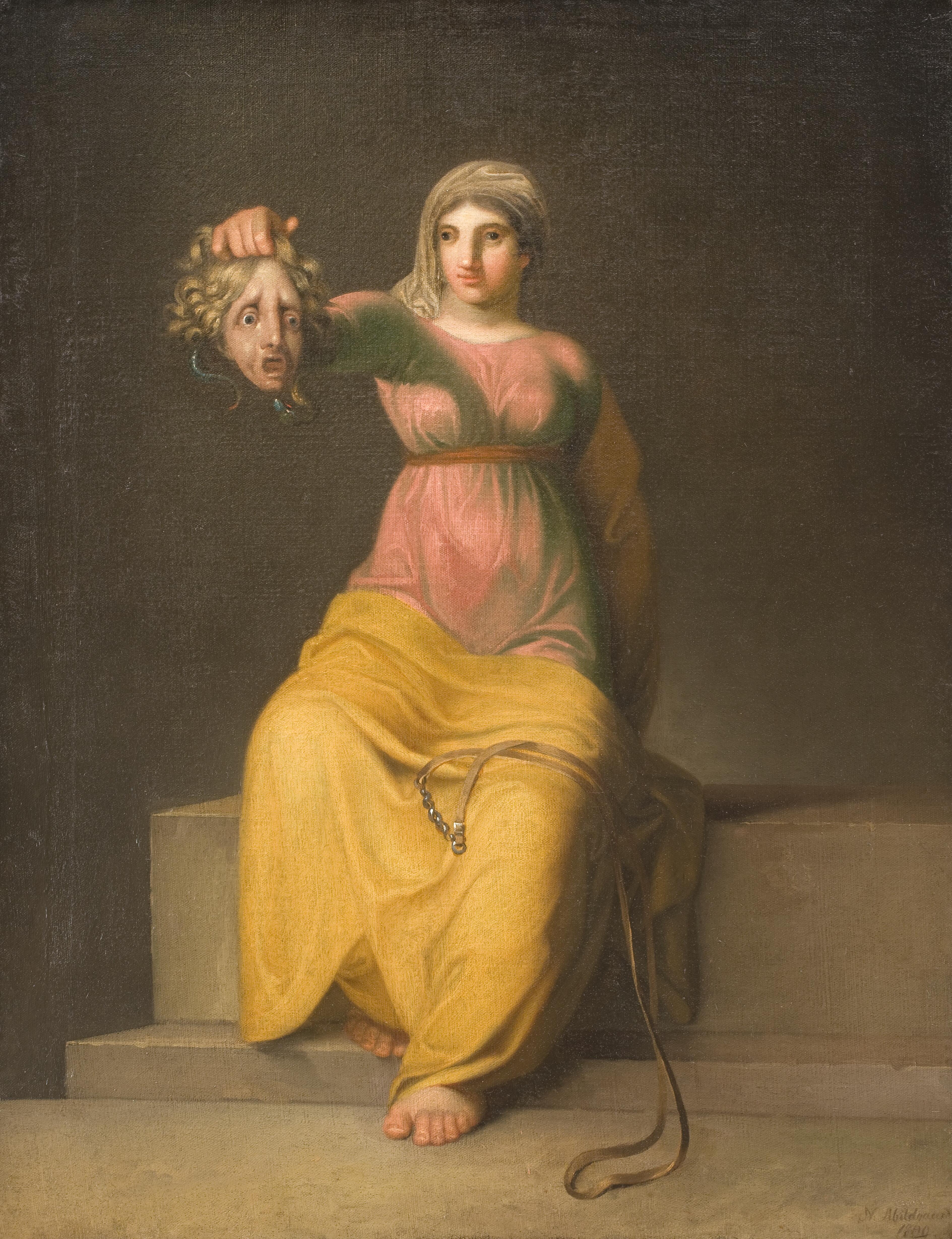 File:Nicolai Abildgaard - Theology. Allegorical figure - KMS3343 - Statens Museum for Kunst.jpg