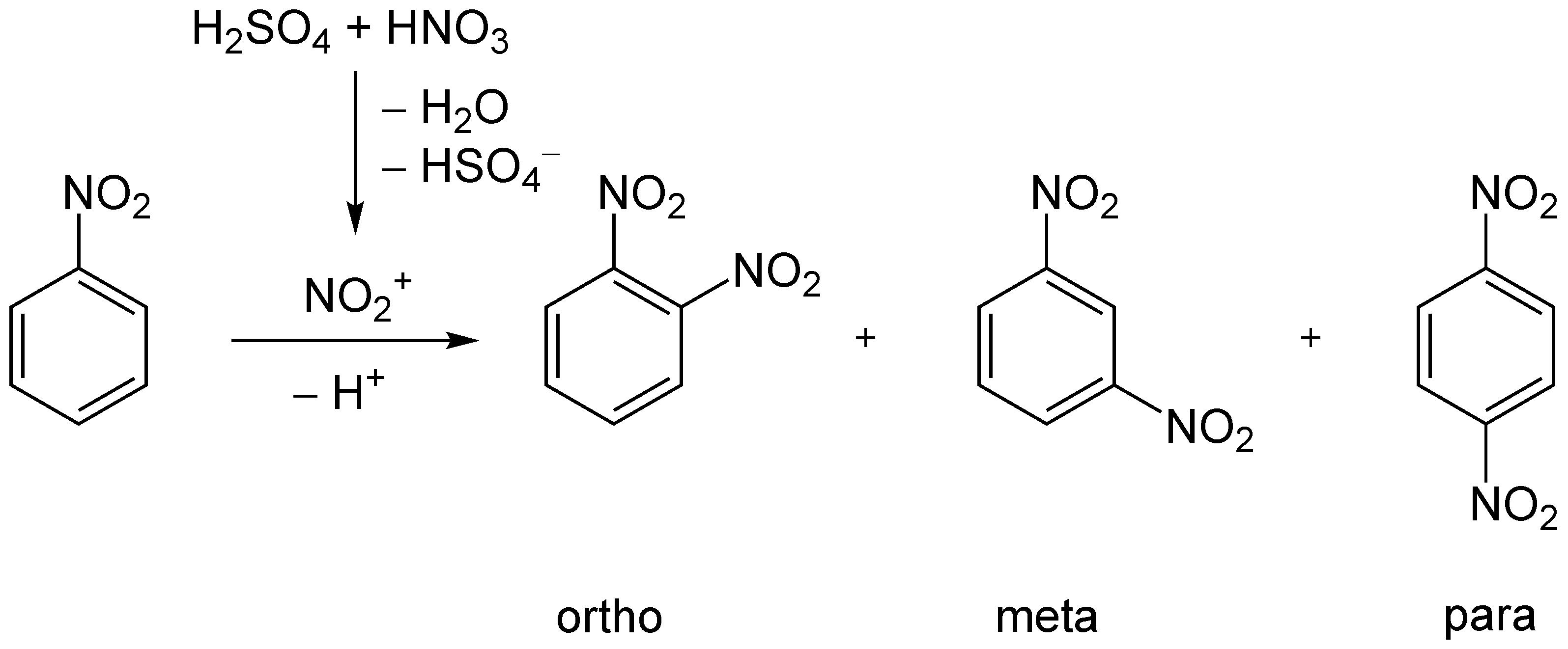 Nitration of Benzene 4