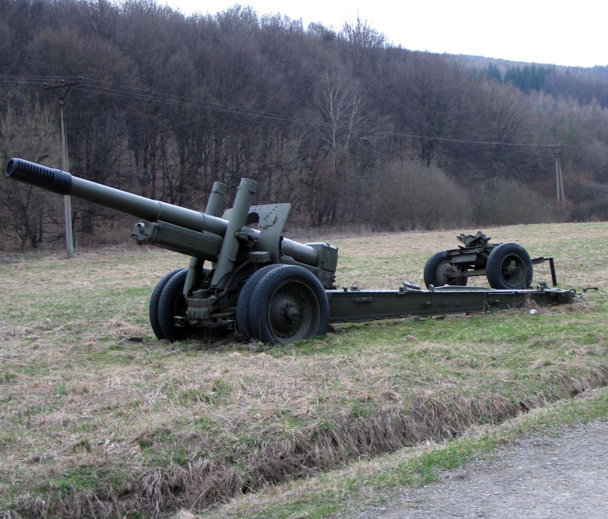 152mm Howitzer ML-20