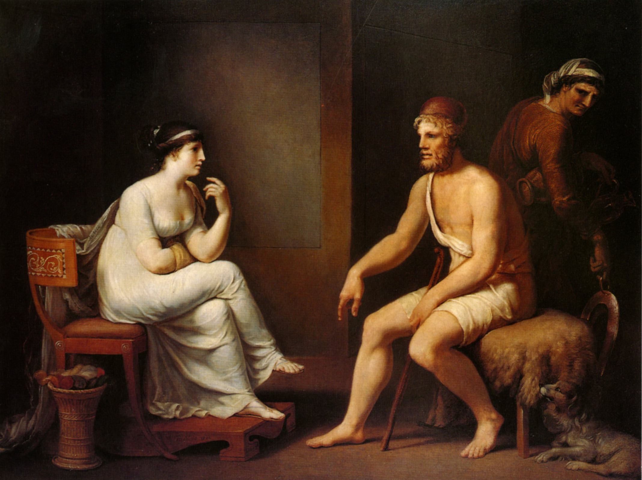 comparison of odysseus and helen as As the suitors are odysseus's mortal antagonists, poseidon is his divine antagonist he despises odysseus for blinding his son, the cyclops polyphemus, and constantly hampers his journey home ironically, poseidon is the patron of the seafaring phaeacians, who ultimately help to return odysseus to ithaca.