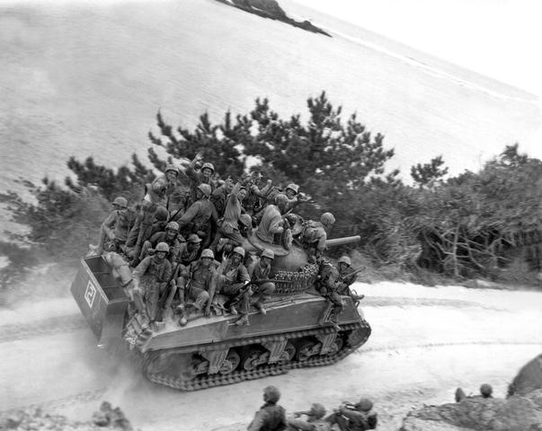 Okinawa Marines Ride Tank