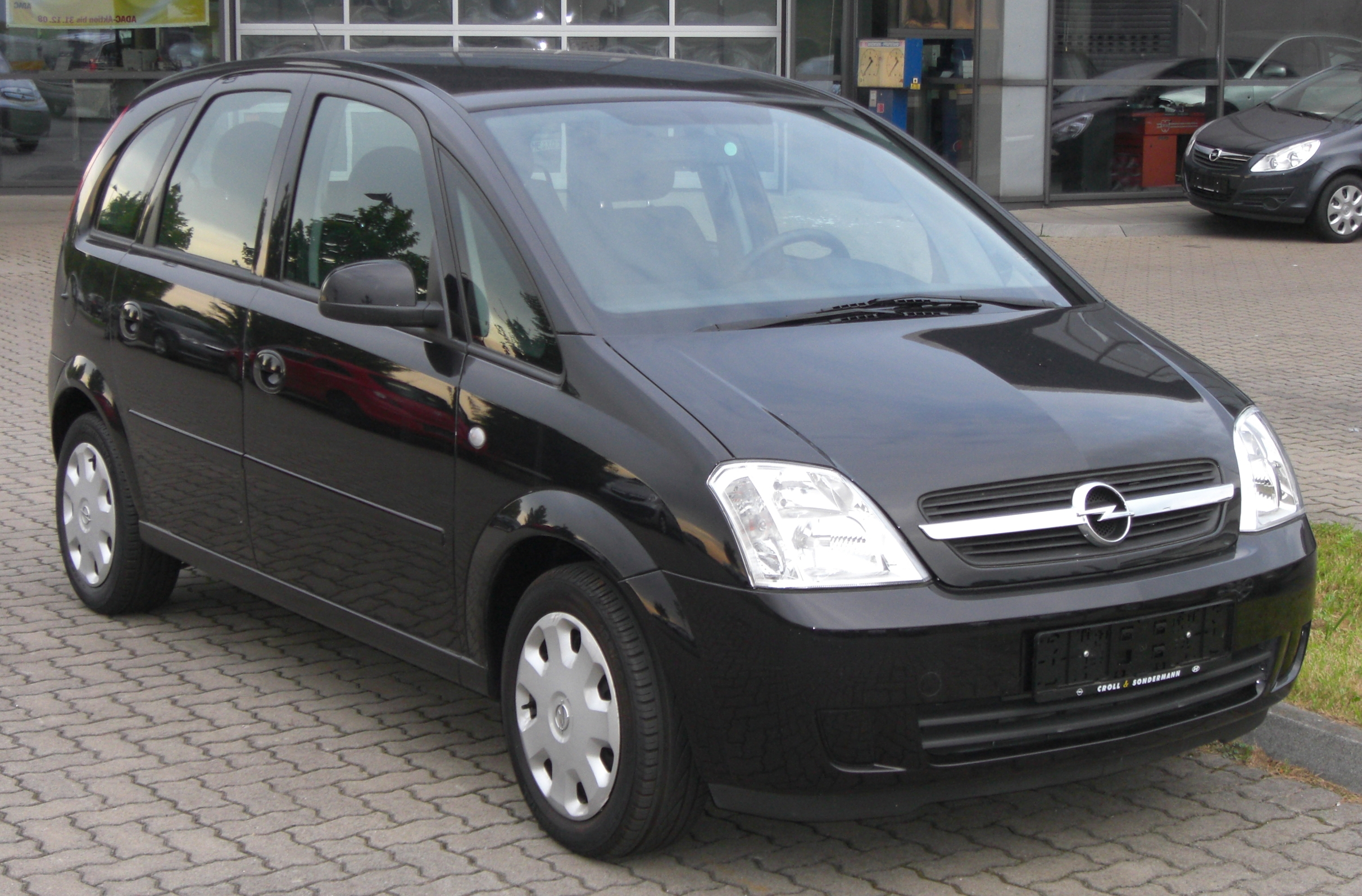 file opel meriva front jpg wikimedia commons. Black Bedroom Furniture Sets. Home Design Ideas