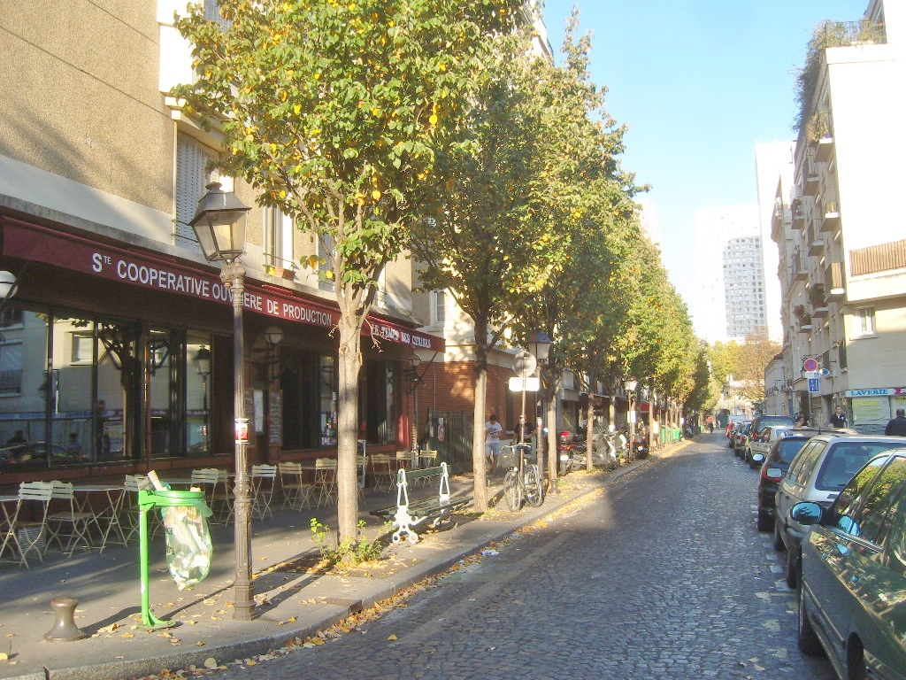 La Butte Aux Cailles Photos file:paris 13e - rue de la butte-aux-cailles - vue est 4