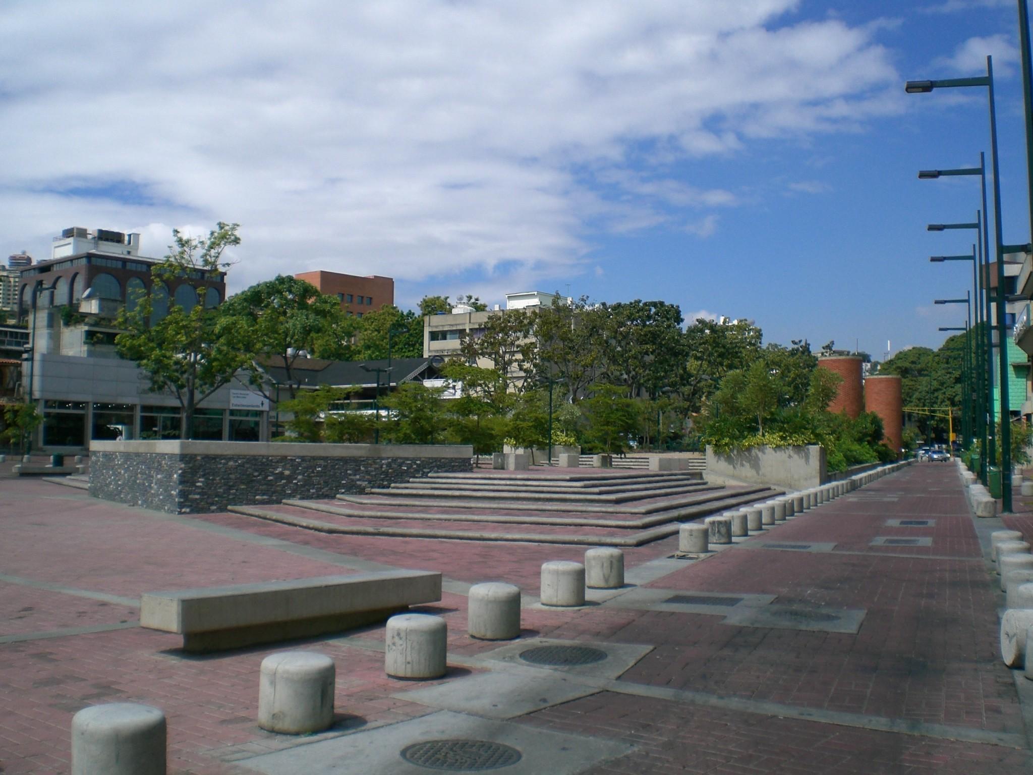 La Plaza Alfredo Sadel, llamada así en su honor, ubicada en Caracas