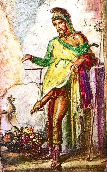 Pompeii Priapus 2 ... Stephen Bywater, has angered neighbours with an erotic 'artwork'   which ...
