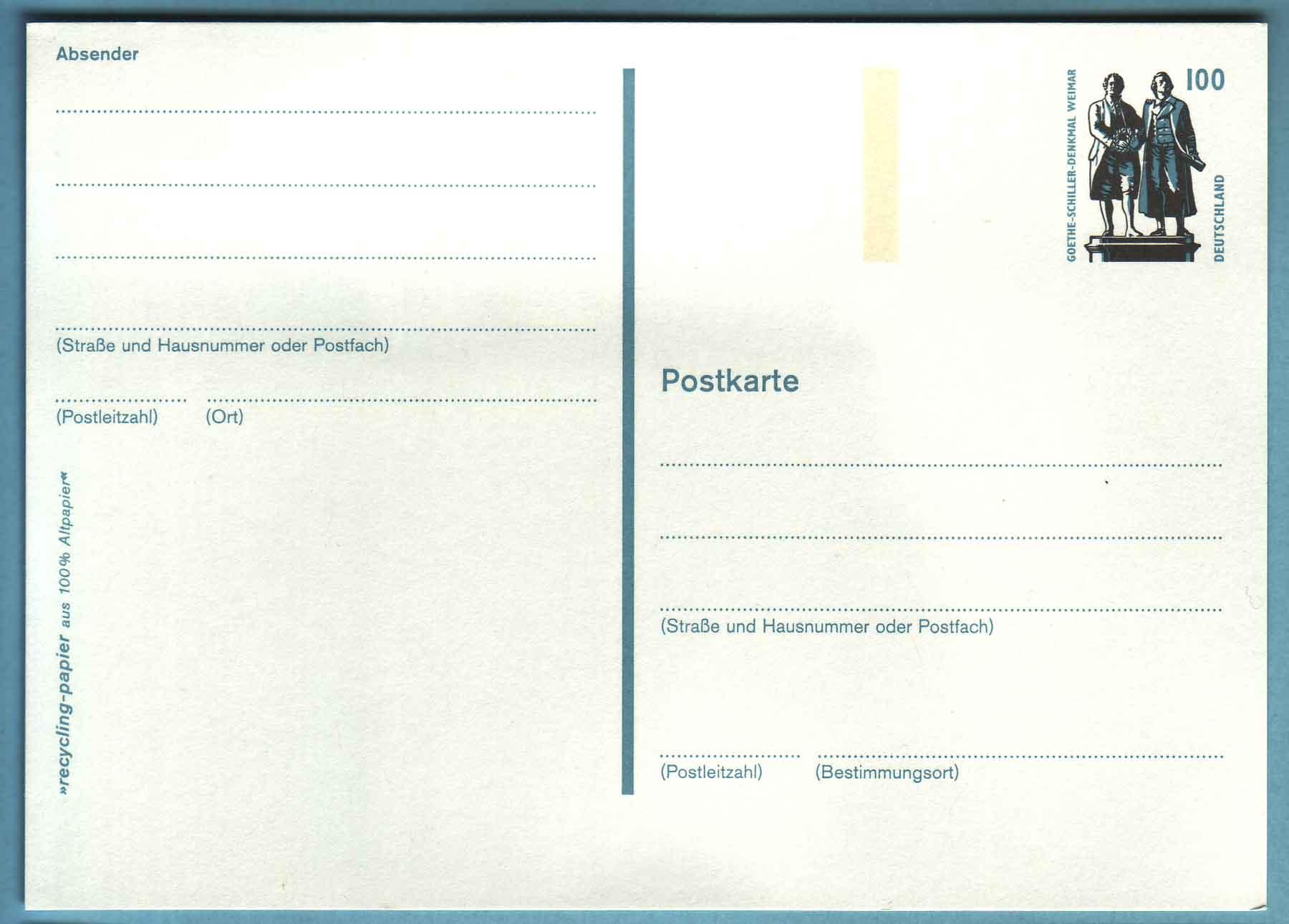 deutsche post karte Datei:Postkarte 157. – Wikipedia