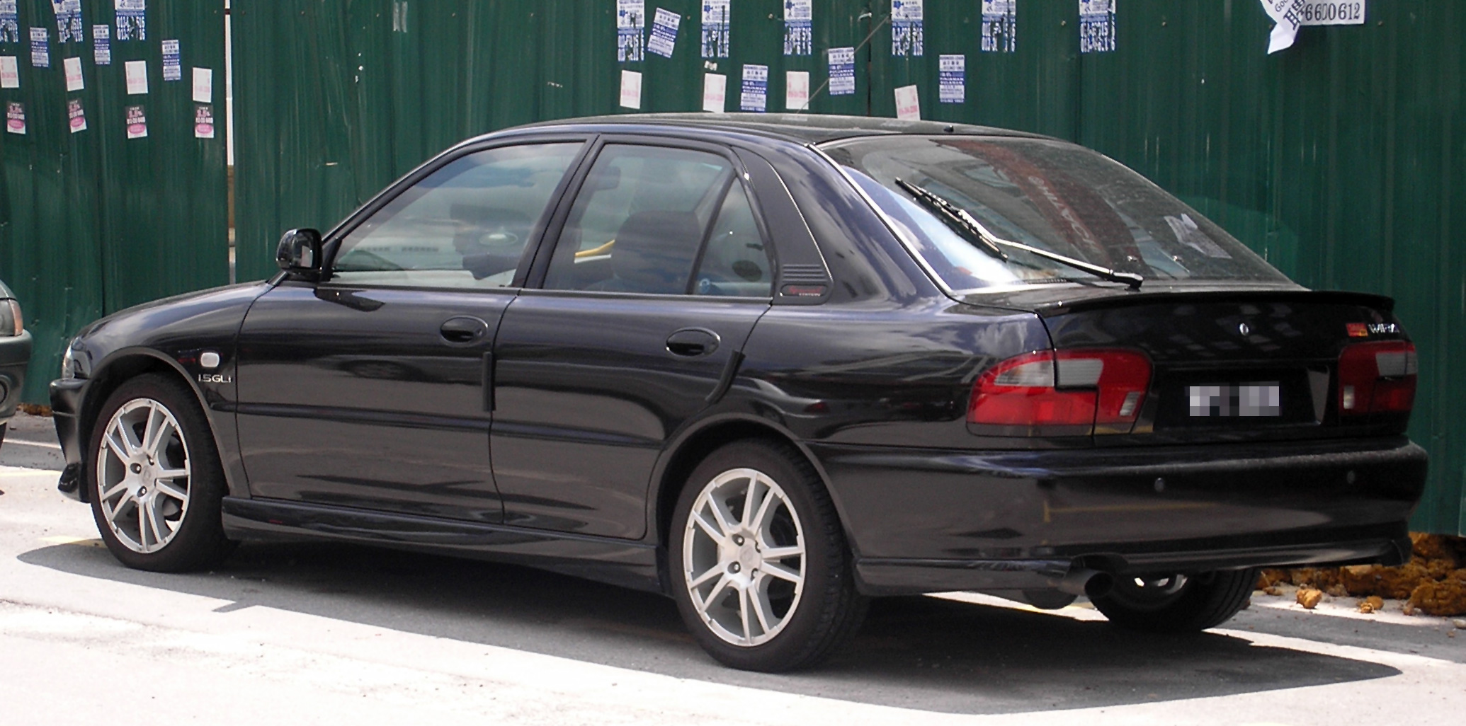 Nuova Kia soul Proton_Wira_(Aeroback,_Special_Edition)_(first_generation,_second_facelift)_(rear),_Serdang