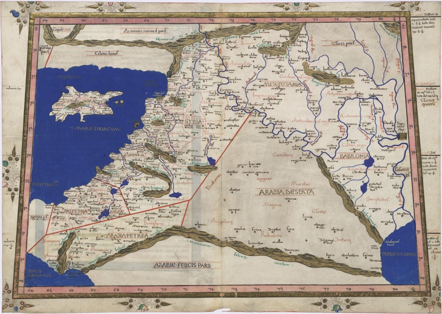 Ptolemy Geographia Book 6