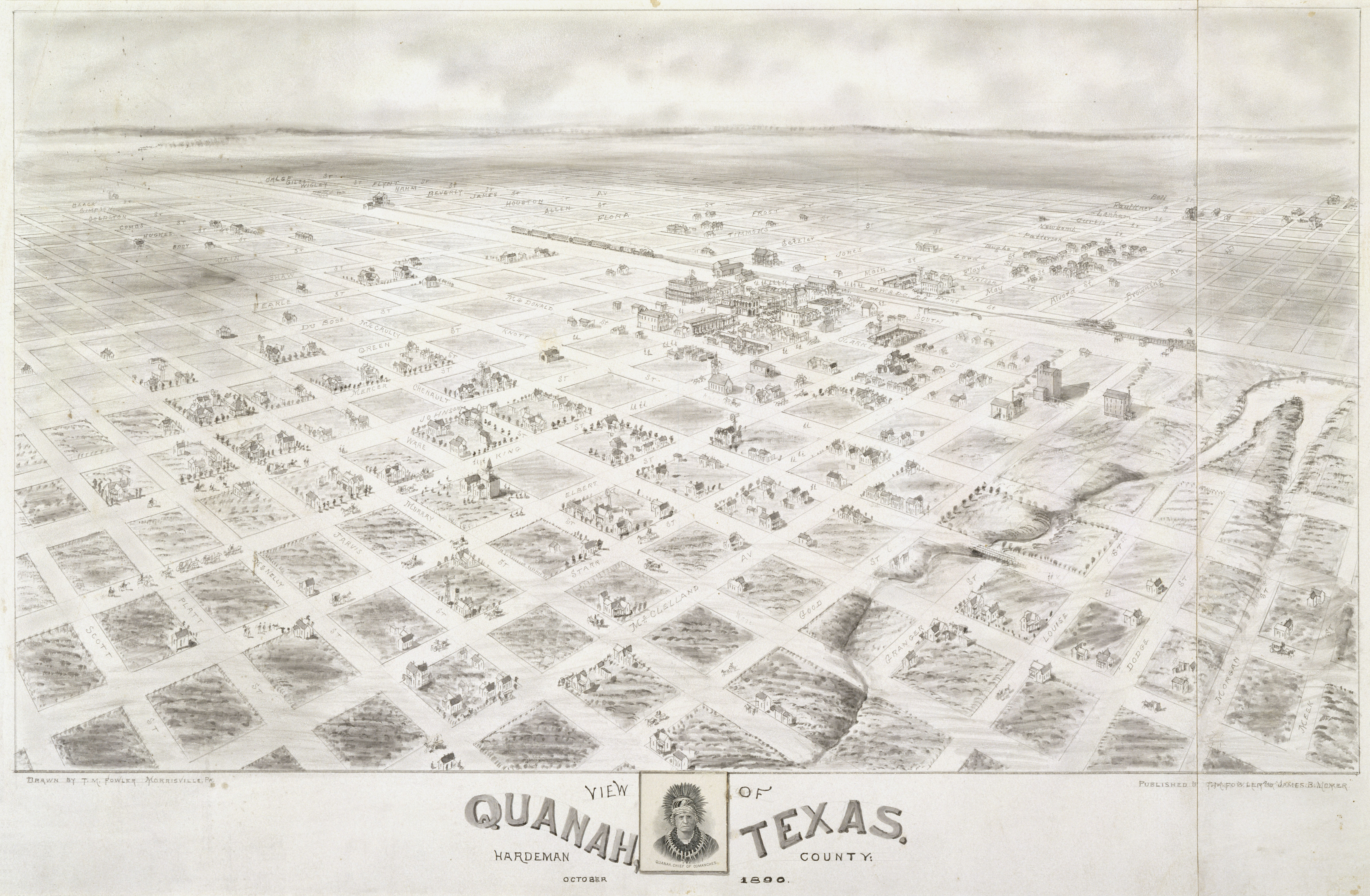File:Quanah, Texas in 1890 - drawing.jpg - Wikimedia Commons on