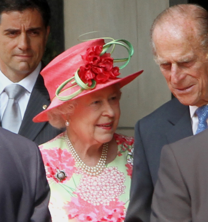 HRH Queen Elizabeth II and Prince Philip
