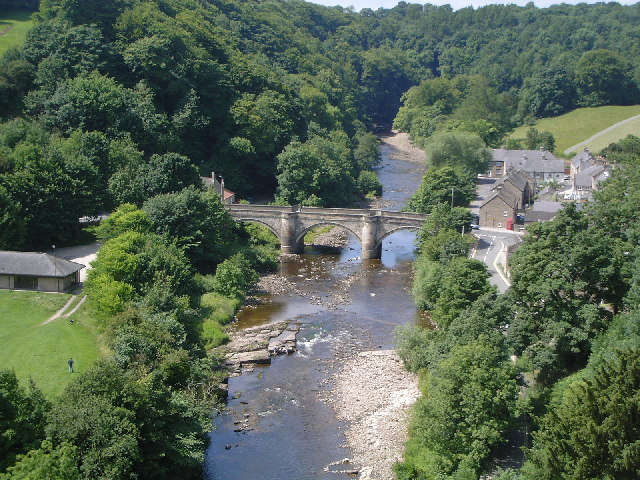 Richmond and River Swale - geograph.org.uk - 33452