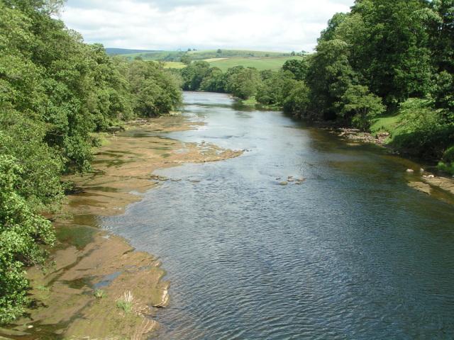 River Eden viewed from Armathwaite bridge - geograph.org.uk - 945486