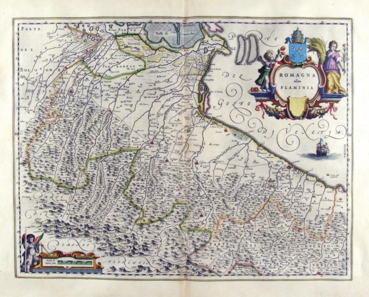 Risultati immagini per mappa antica romagna