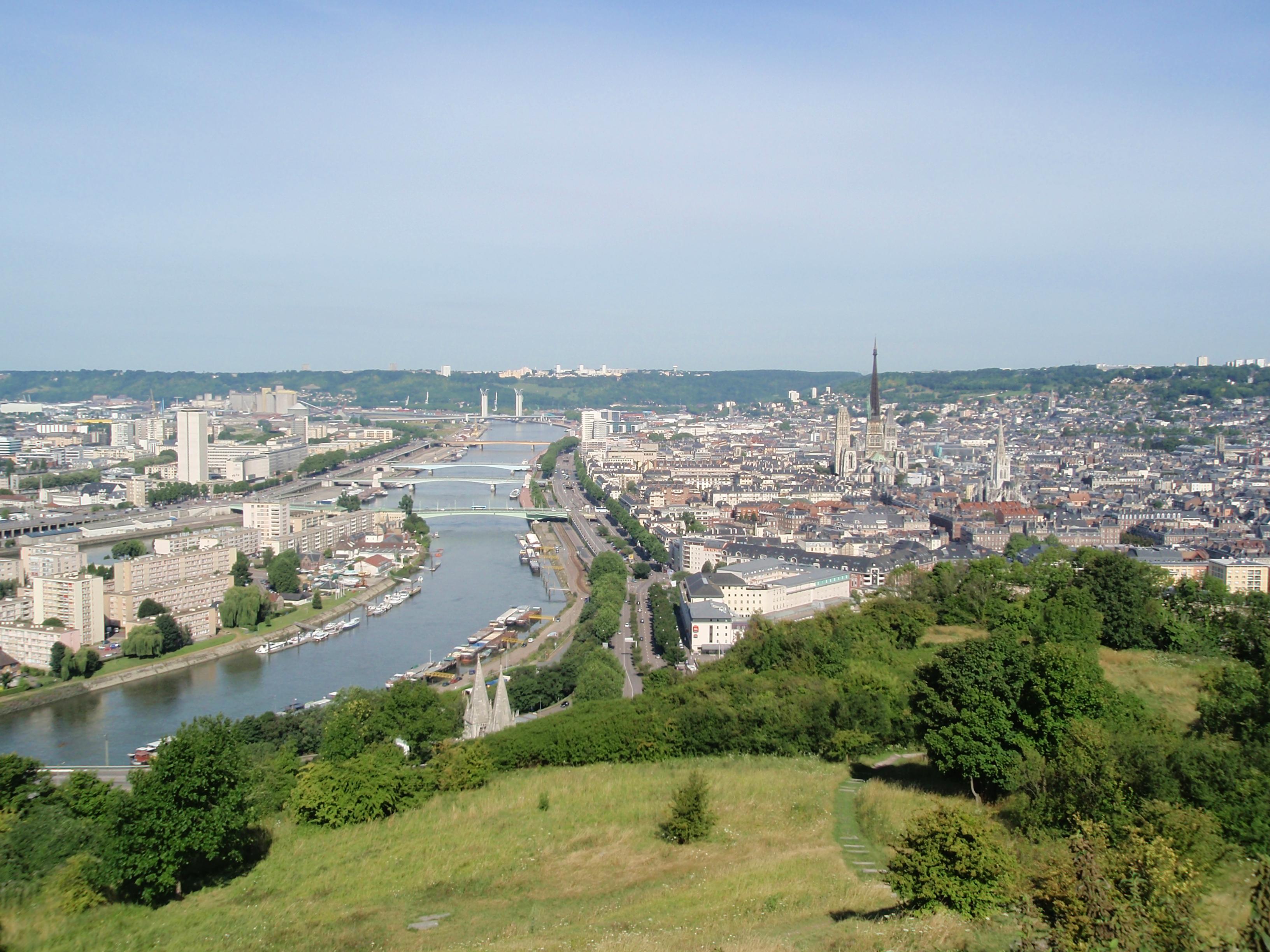 File rouen panorama jpg wikimedia commons - Ikea rouen tourville la riviere tourville la riviere ...