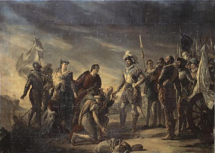 Rouget - Henri IV devant Paris assiegé (août 1590)
