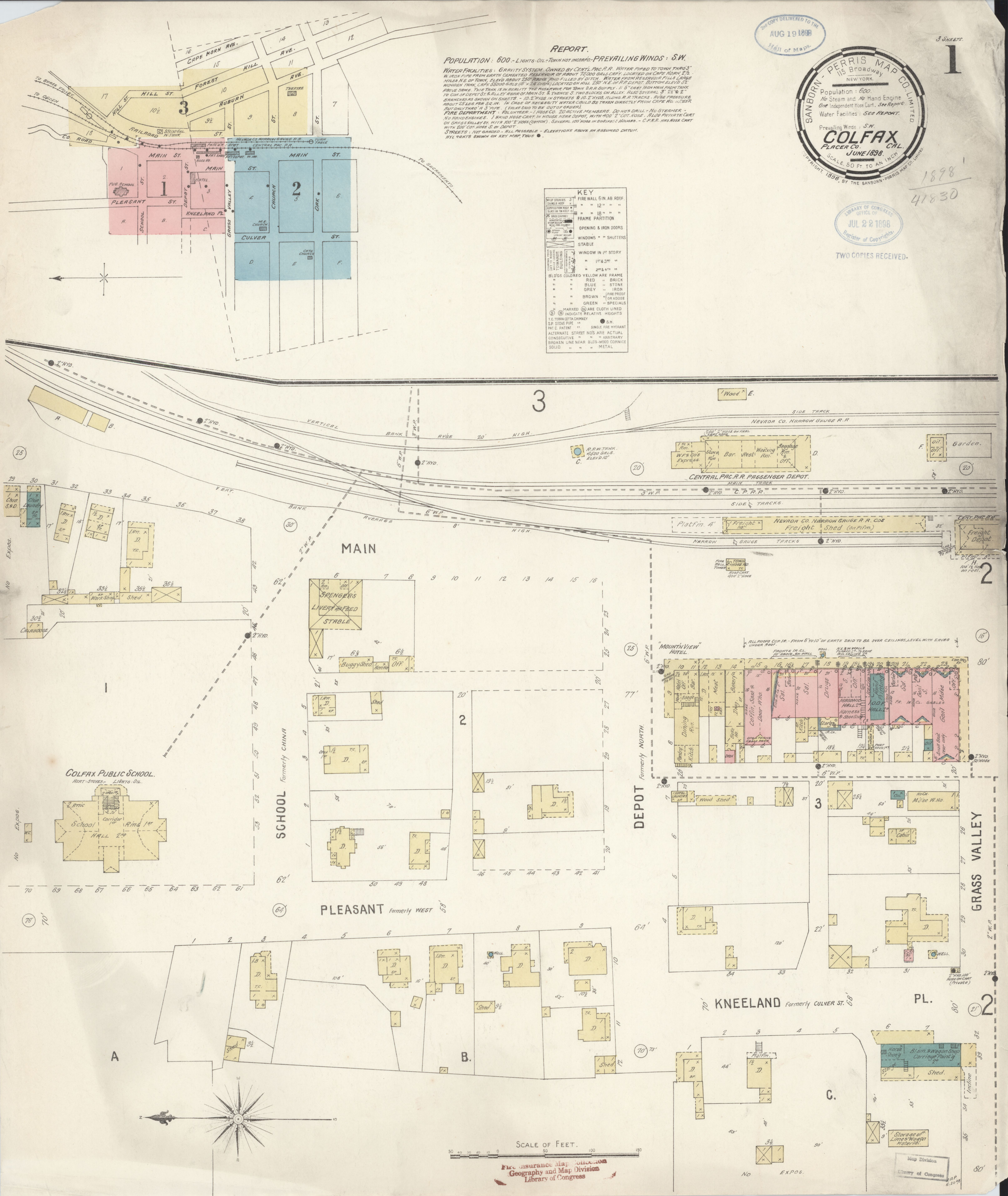 File:Sanborn Fire Insurance Map from Colfax, Placer County ...